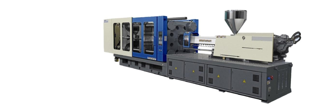 Imagen de maquina inyectora de plástico